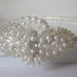 Luxury Hair Piece - AVA - Crystal Rhinestone Headband